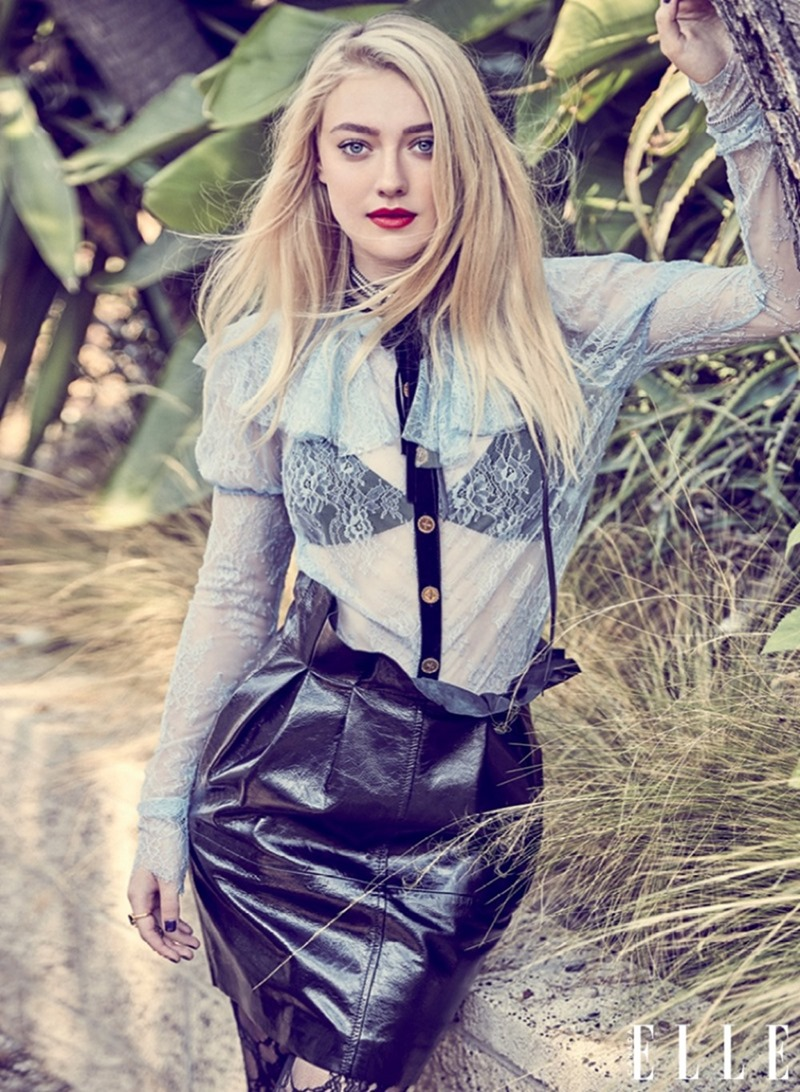 ELLE CANADA Dakota Fanning by Max Abadian. Julianna Schiavinatto, November 2016, www.imageamplified.com, Image Amplified2