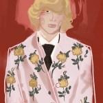 FASHION ILLUSTRATION: Gucci, Milan Fashion Week Spring/Summer 2017 by Storyline Illustration