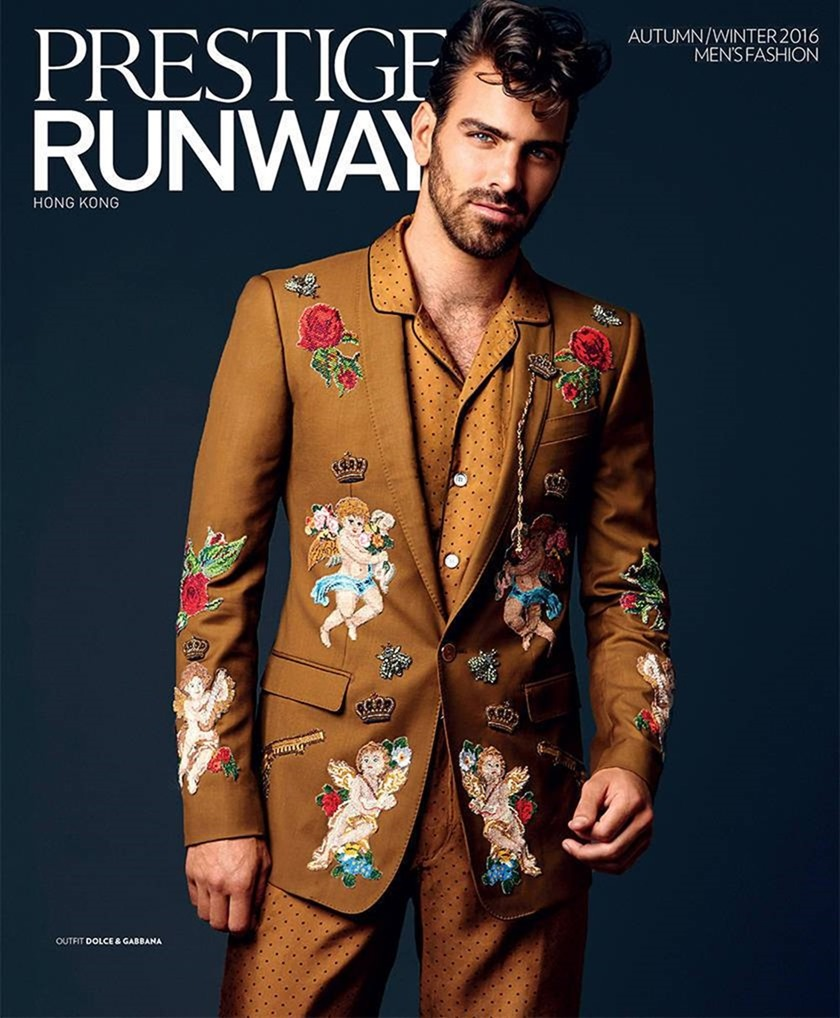 FASHION PHOTOGRAPHY Nyle DiMarco for Prestige Hong Kong, Fall 2016. www.imageamplified.com, Image Amplified (1)