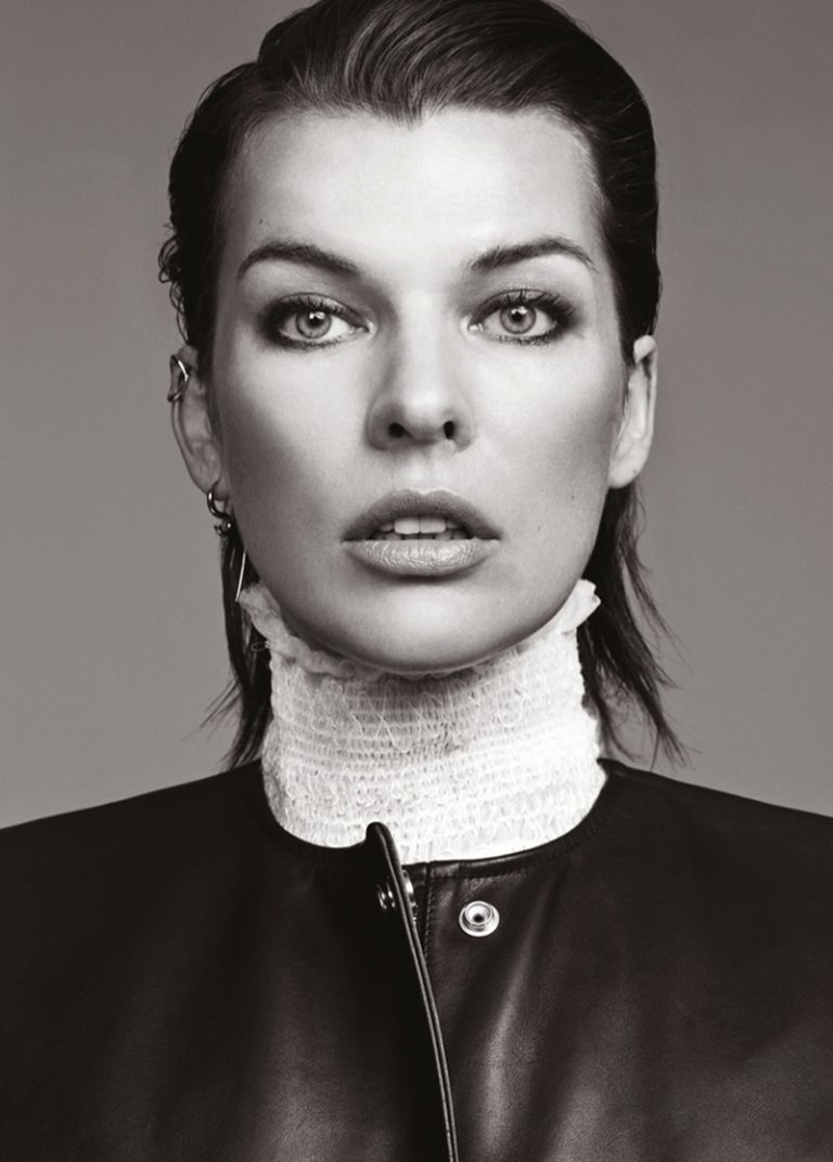 GLASS MAGAZINE Milla Jovovich by Bojana Tatarska. Marine Braunschvig, Fall 2016, www.imageamplified.com, Image Amplified (8)