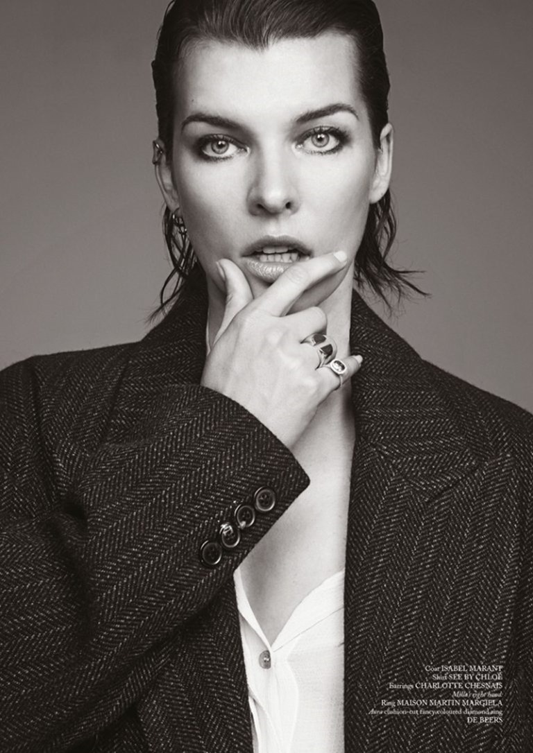 GLASS MAGAZINE Milla Jovovich by Bojana Tatarska. Marine Braunschvig, Fall 2016, www.imageamplified.com, Image Amplified (12)