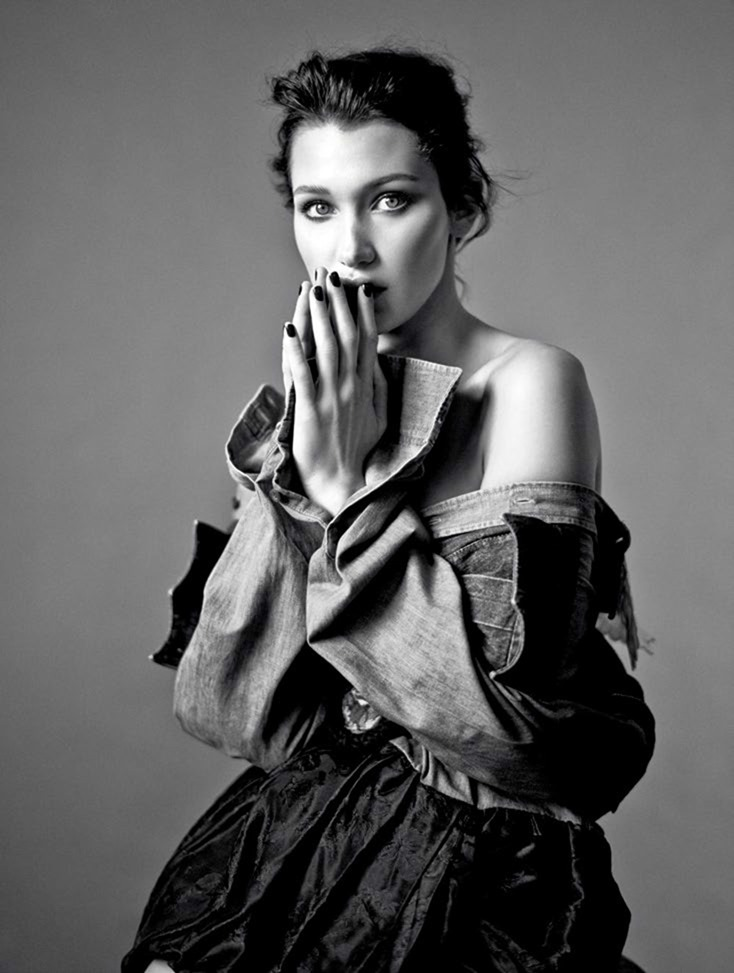 HARPER'S BAZAAR RUSSIA Bella Hadid by Mathieu Cesar. Svetlana Vashenyak, October 2016, www.imageamplified.com, Image Amplified
