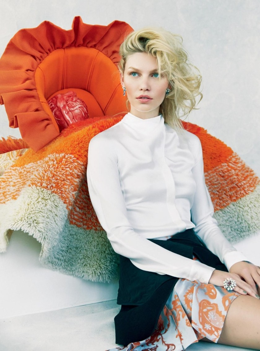 HARPER'S BAZAAR UK Aline Weber by Erik Madigan Heck. Charlie Harrington, November 2016, www.imageamplified.com, Image Amplified (2)