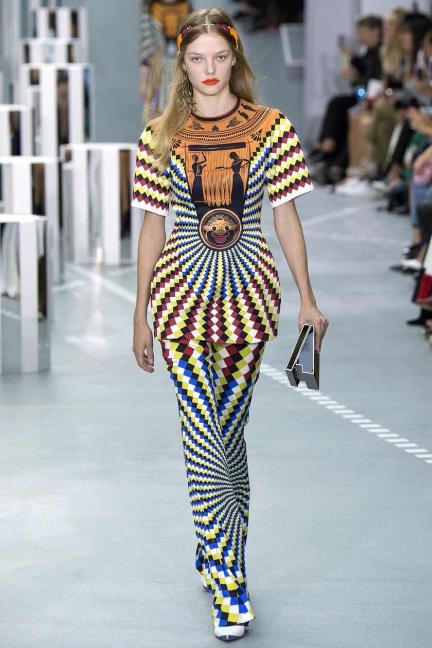 LONDON FASHION WEEK Mary Katrantzou Spring 2017. www.imageamplified.com, Image Amplified (1)