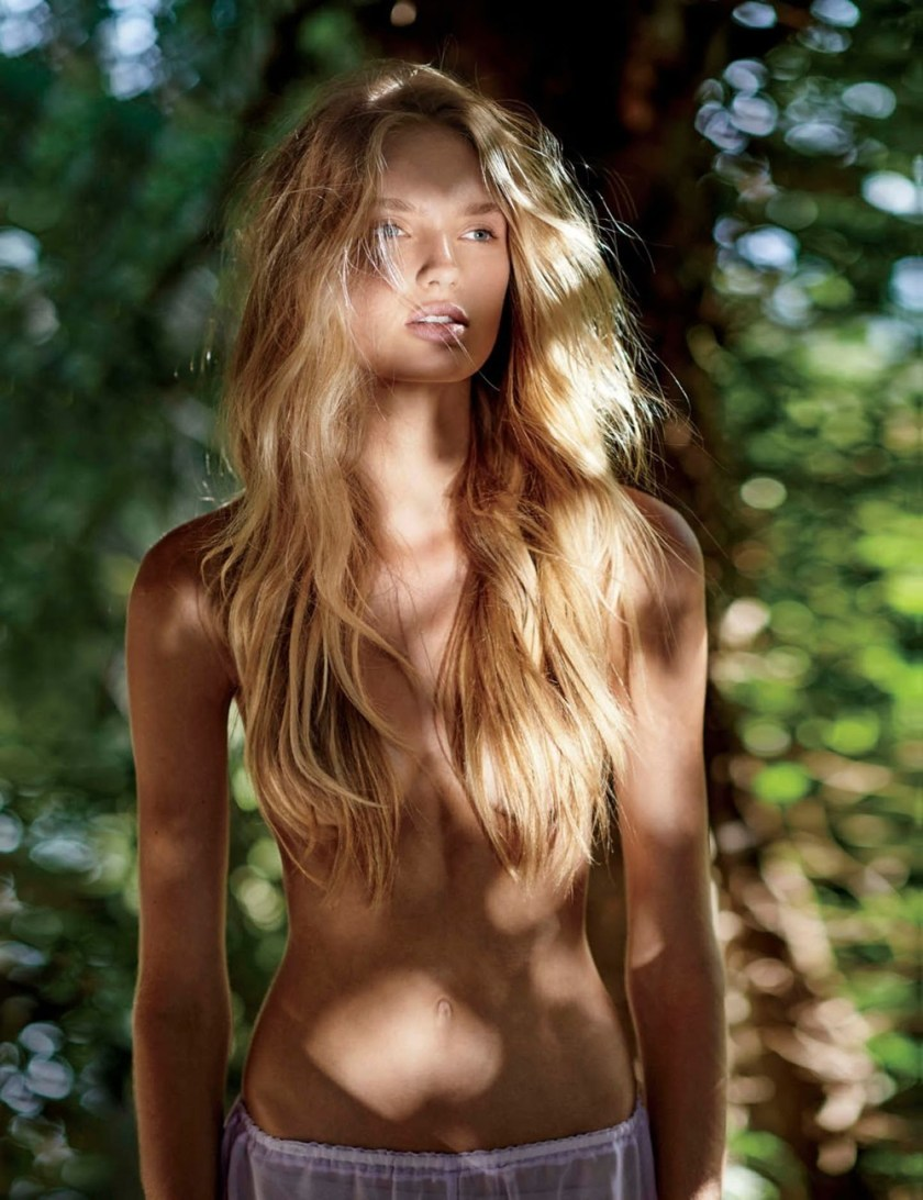 MAXIM MAGAZINE Romee Strijd by Gilles Bensimon. Caroline Christiansson, October 2016, www.imageamplified.com, Image Amplified9