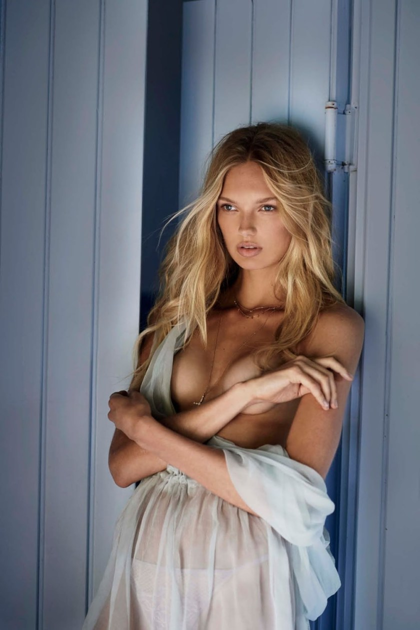 MAXIM MAGAZINE Romee Strijd by Gilles Bensimon. Caroline Christiansson, October 2016, www.imageamplified.com, Image Amplified11