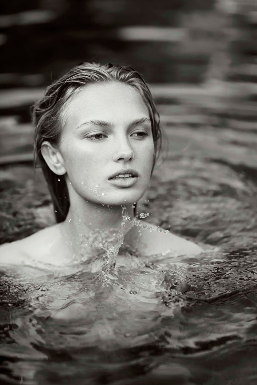 MAXIM MAGAZINE Romee Strijd by Gilles Bensimon. Caroline Christiansson, October 2016, www.imageamplified.com, Image Amplified3