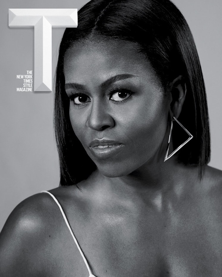T STYLE MAGAZINE Michelle Obama by Collier Schorr. Fall 2016, www.imageamplified.com, Image Amplified4