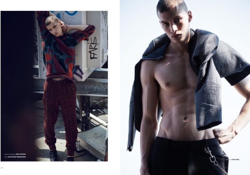 TOM MAGAZINE Louis Mayhew by Brent Chua. Jungle Lin, Fall 2016, www.imageamplified.com, Image Amplified5