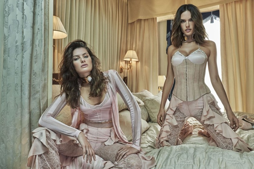 VOGUE BRASIL Alessandra Ambrosio & Isabeli Fontana by Mariano Vivanco. Oliver Rousteing, October 2016, www.imageamplified.com, Image Amplified6