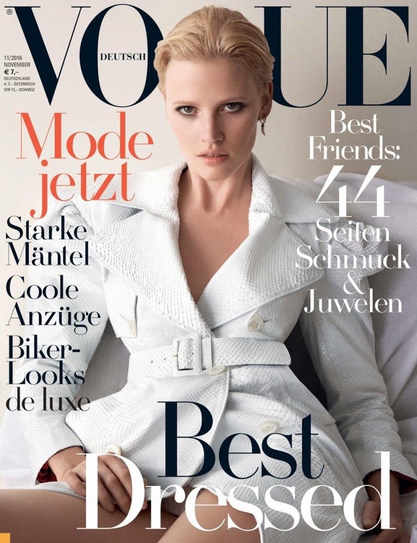 VOGUE GERMANY Lara Stone by Camilla Akrans. Nicola Knels, November 2016, www.imageamplified.com, Image Amplified1