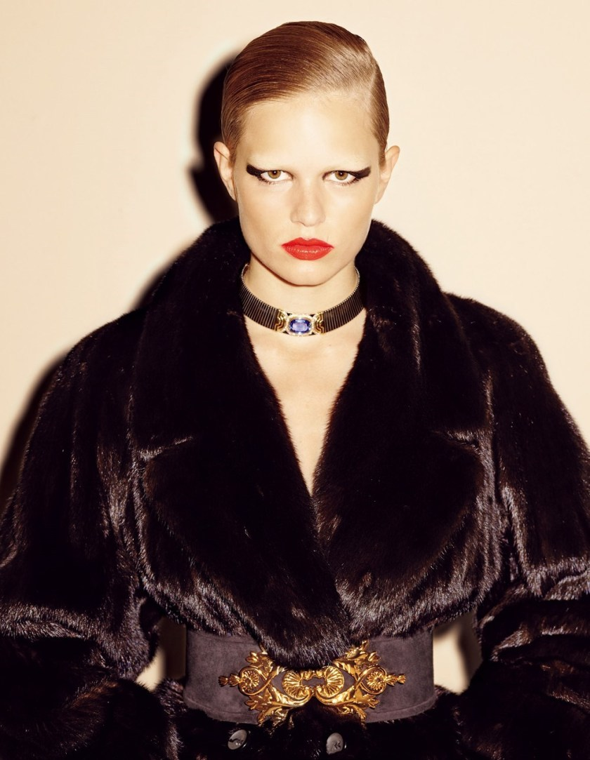 VOGUE JAPAN Anna Ewers by Ezra Petronio. Sissy Vian, November 2016, www.imageamplified.com, Image Amplified8