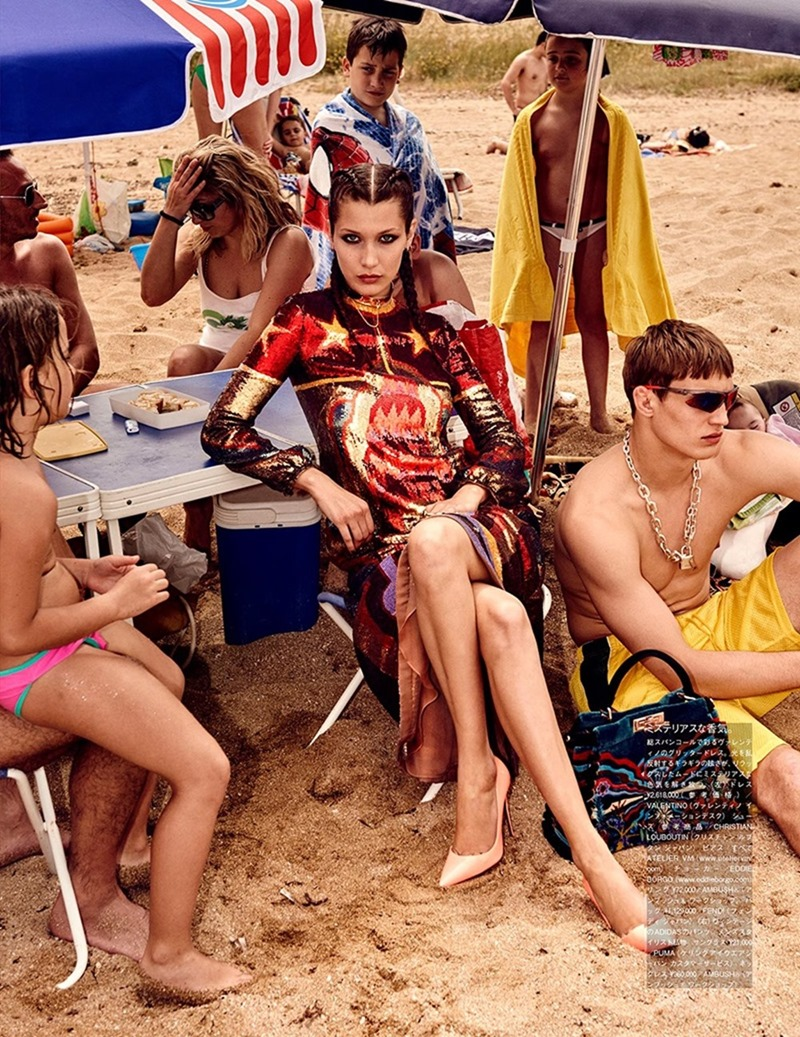 VOGUE JAPAN Bella Hadid & Filip Hrivnak by Giampaolo Sgura. Anna Dello Russo, November 2016, www.imageamplified.com, Image Amplified3