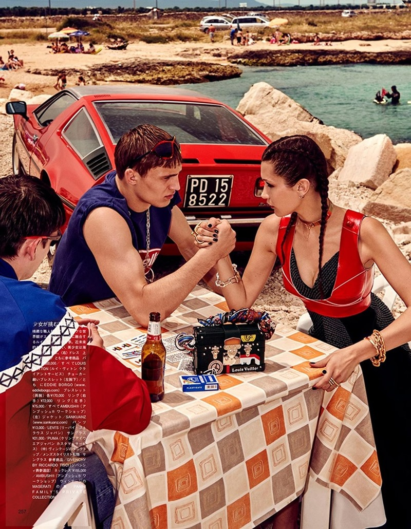 VOGUE JAPAN Bella Hadid & Filip Hrivnak by Giampaolo Sgura. Anna Dello Russo, November 2016, www.imageamplified.com, Image Amplified12