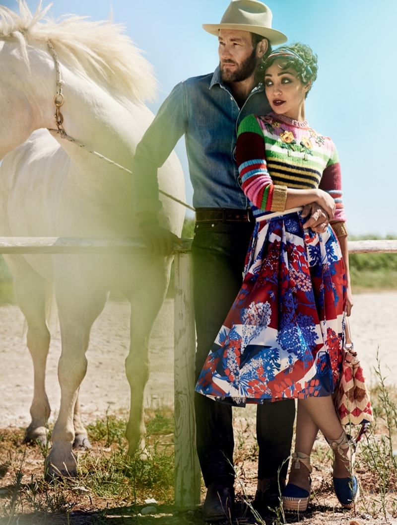 VOGUE MAGAZINE Ruth Negga & Joel Edgerton by Mario Testino. Camilla Nickerson, November 2016, www.imageamplified.com, Image Amplified2