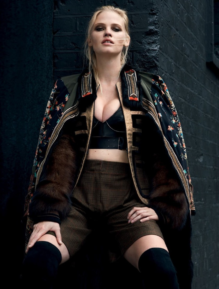 VOGUE TURKEY Lara Stone by Liz Collins. Konca Aykan, October 2016, www.imageamplified.com, Image Amplified7