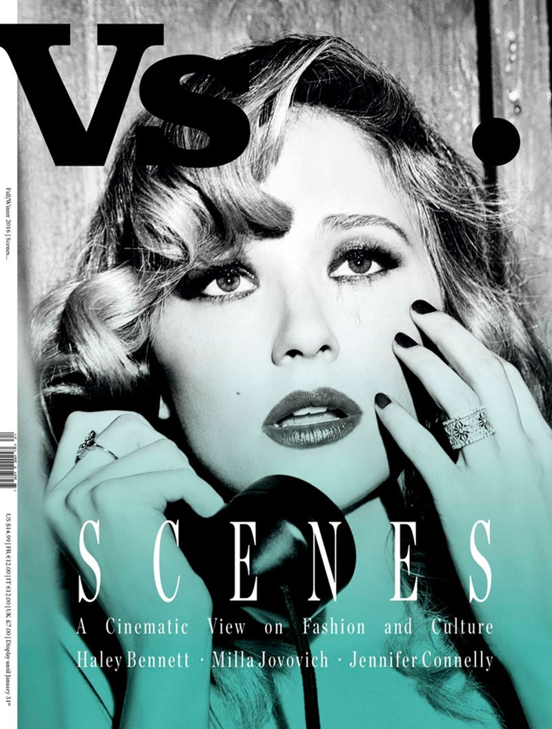 VS. MAGAZINE Haley Bennett by Ellen von Unworthy. Jaime Kay Waxman, Fall 2016, www.imageamplified.com, Image Amplified1