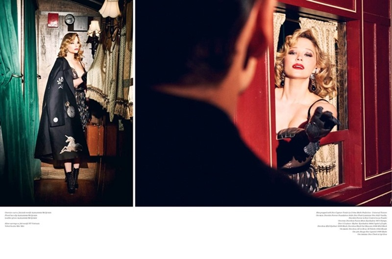 VS. MAGAZINE Haley Bennett by Ellen von Unworthy. Jaime Kay Waxman, Fall 2016, www.imageamplified.com, Image Amplified3