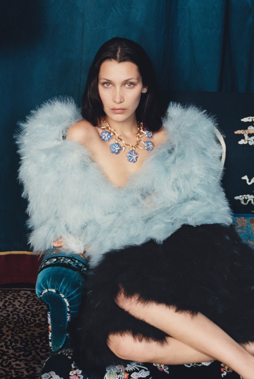 W MAGAZINE Bella Hadid by Venetia Scott. Edward Enninful, October 2016, www.imageamplified.com, Image Amplified5