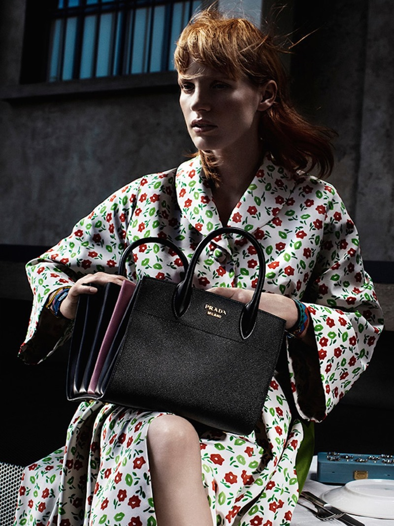 CAMPAIGN Jessica Chastain for Prada Resort 2017 by Willy Vanderperre. www.imageamplified.com, Image Amplified (7)