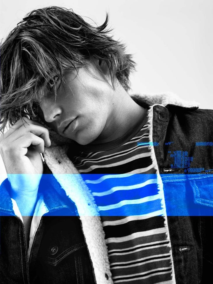 CAMPAIGN Jordan Barrett for Pepe Jeans Fall 2016 by Scott Trindle. www.imageamplified.com, Image Amplified (3)