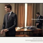 CAMPAIGN: Nikola Jovanovic for Ermegildo Zegna Fall 2016 by Max Farago