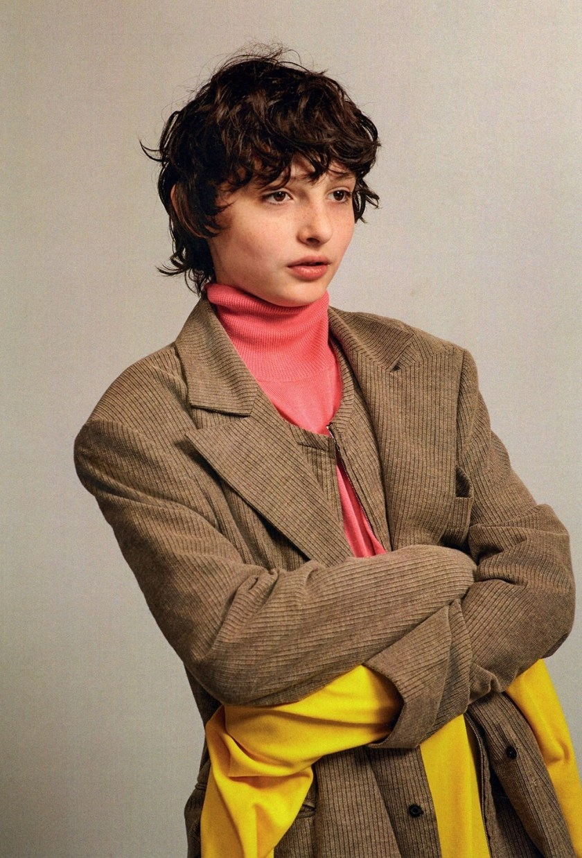 DAZED MAGAZINE Millie Bobby Brown & Finn Wolfhard by Collier Schorr. Robbie Spencer, Fall 2016, www.imageamplified.com, Image Amplified10