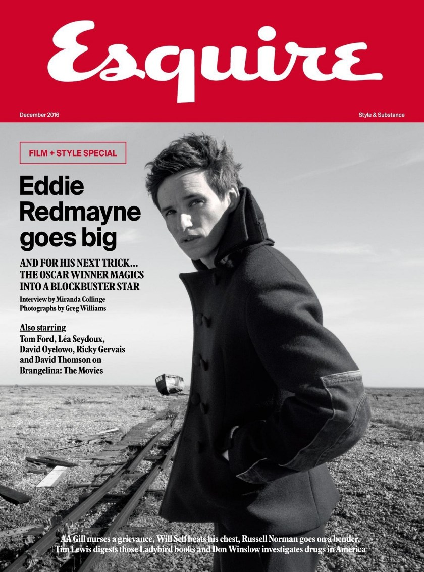 ESQUIRE UK Eddie Redmayne by Greg Williams. Catherine Hayward, Fall 2016, www.imageamplified.com, Image Amplified6