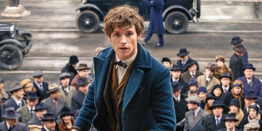 Improving Fantastic Beasts. Eddie Redmayne plays Newt Scamander, who leads an adventure through a magical 1920's New York in Fantastic Beasts and Where to Find Them. Image Amplified www.imageamplified.com
