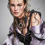 GLAMOUR MAGAZINE: Mathilde Brandi by Patrick Demarchelier
