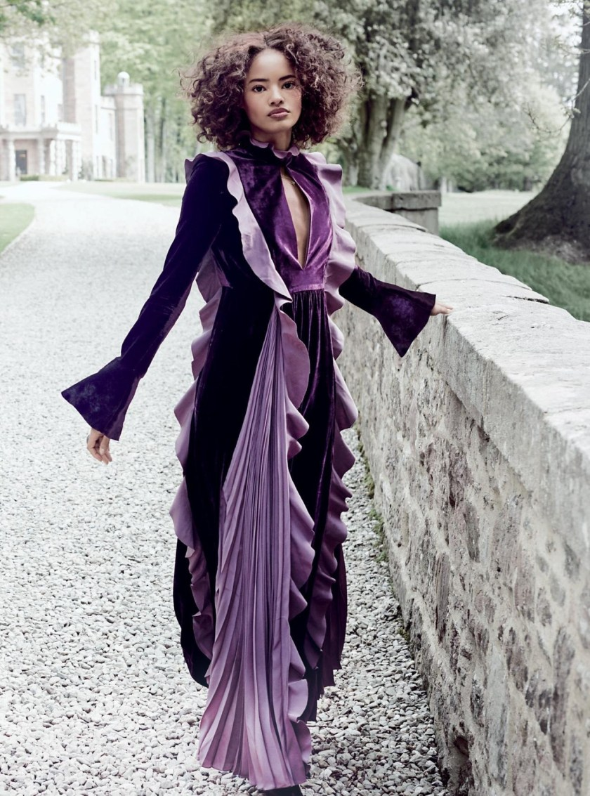 HARPER'S BAZAAR UK Malaika Firth by Regan Cameron. Miranda Almond, December 2016, www.imageamplified.com, Image Amplified5