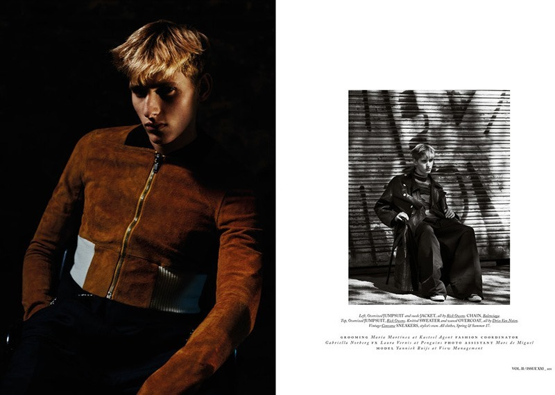 HERCULES MAGAZINE Yanniek Buijs by Daniel Riera. Francesco Sourigues, Fall 2016, www.imageamplified.com, Image Amplified9