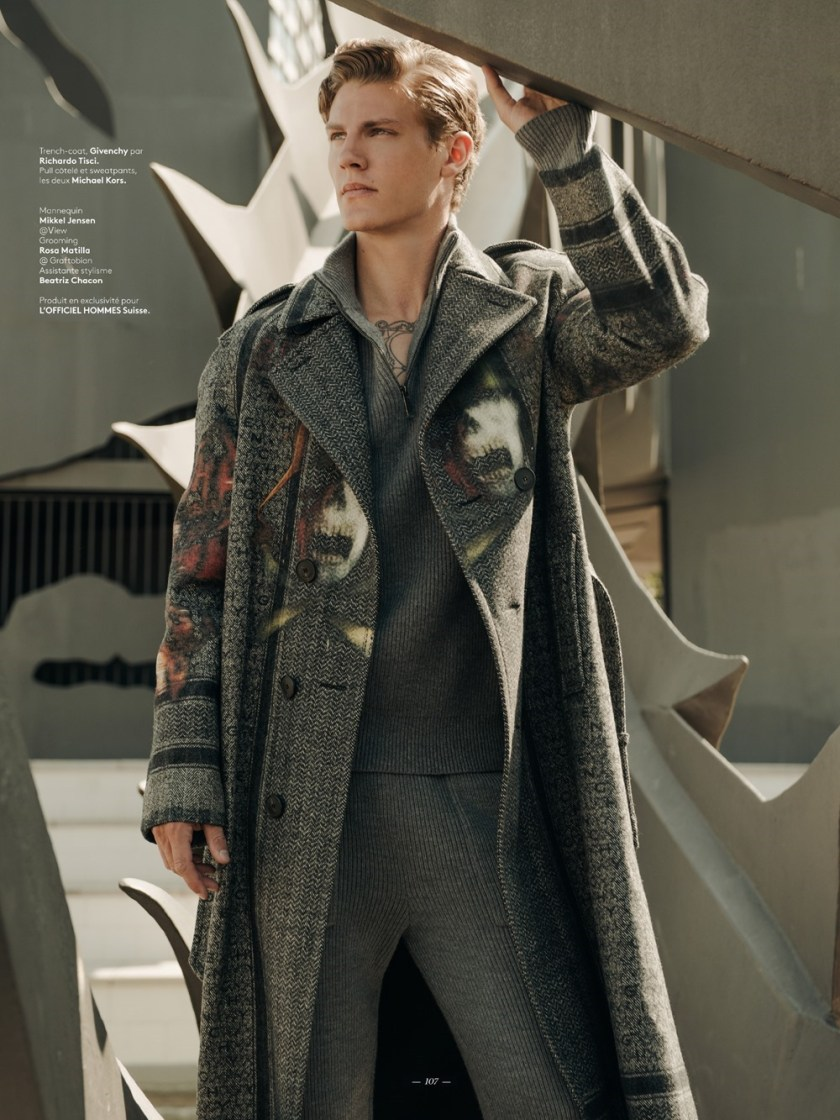 L'OFFICIEL HOMMES SWITZERLAND Mikkel Jensen by Fernando Gomez, Daniel Gonzalez, Fall 2016, www.imageamplified.com, Image Amplified