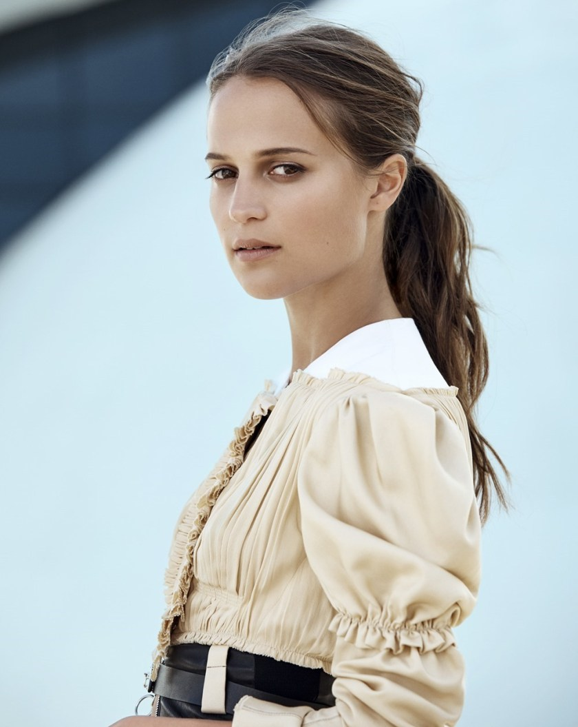 MARIE CLAIRE FRANCE Alicia Vikander by Nick Hudson. Sophie Thomas, September 2016, www.imageamplified.com, Image Amplified3
