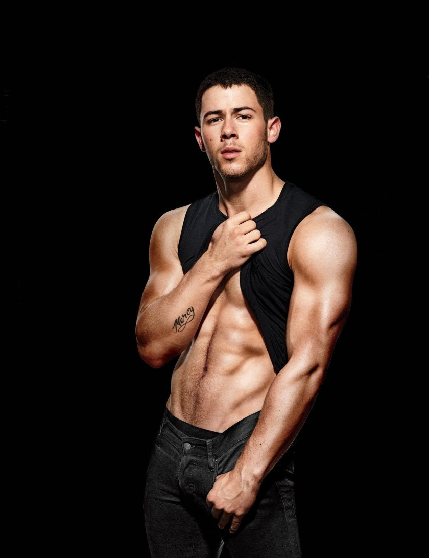MEN'S FITNESS Nick Jonas by Peter Yang. December 2016, www.imageamplified.com, Image Amplified1