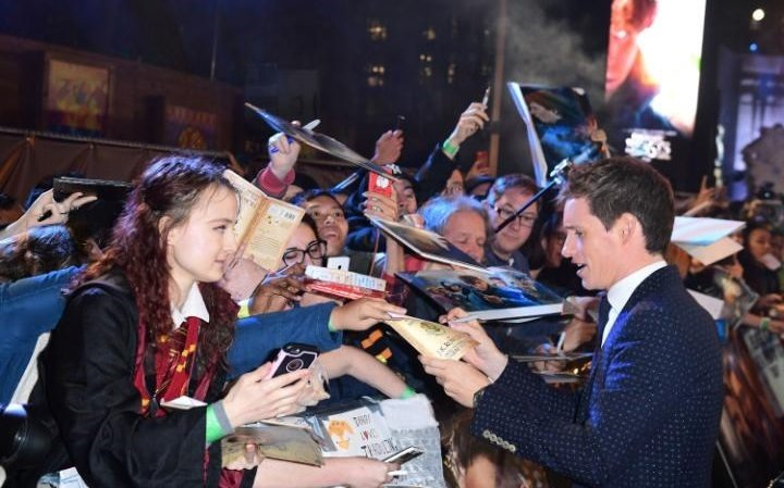 RED CARPET MOVIE PREMIERE Fantastic Beasts and Where to Find them, London Leicester Square Premiere24