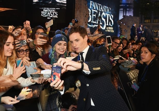 RED CARPET MOVIE PREMIERE Fantastic Beasts and Where to Find them, London Leicester Square Premiere29