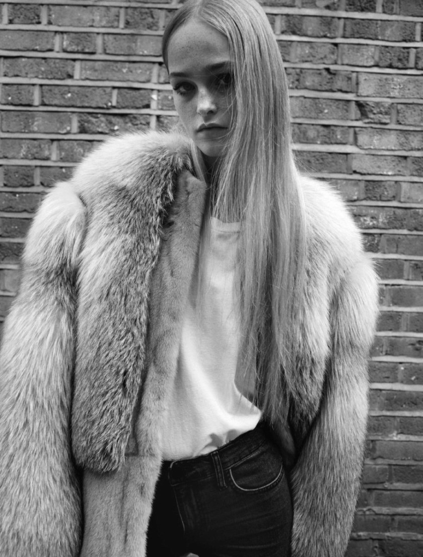 SELF SERVICE MAGAZINE Jean Campbell & Vanessa Moody by Angelo Pennetta. Julia Sarr-Jamois, Fall 2016, www.imageamplified.com, Image Amplified8