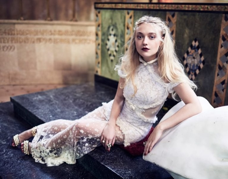 THE EDIT Dakota Fanning by Billy Kidd. Tracy Taylor, October 2016, www.imageamplified.com, Image Amplified (2)