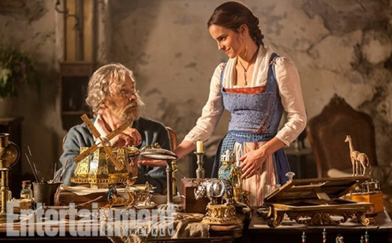 UPCOMING MOVIES Emma Watson & Dan Stevens in Beauty and the Beast, Entertainment Weekly, 2016, www.imageamplified.com, Image Amplified (4)
