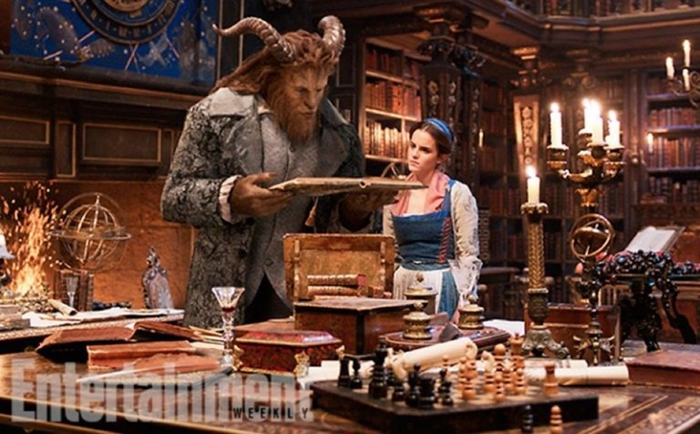 UPCOMING MOVIES Emma Watson & Dan Stevens in Beauty and the Beast, Entertainment Weekly, 2016, www.imageamplified.com, Image Amplified (5)