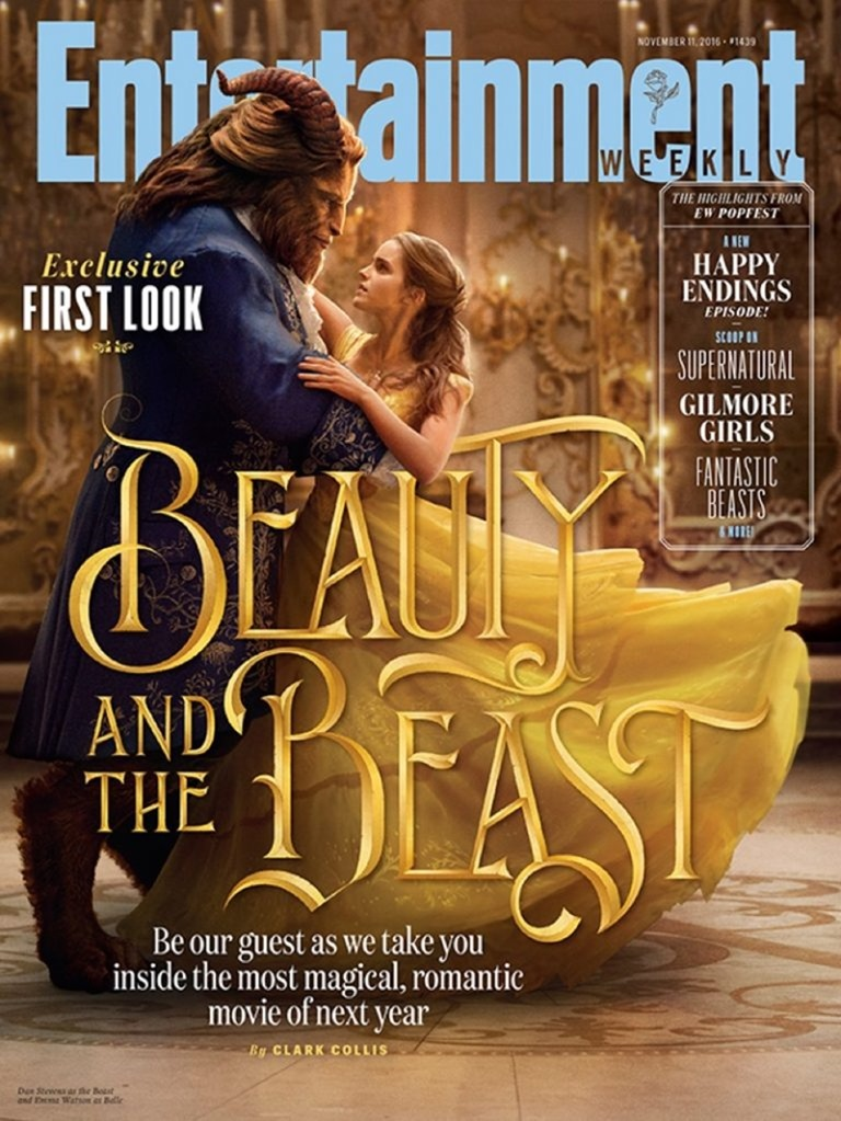UPCOMING MOVIES Emma Watson & Dan Stevens in Beauty and the Beast, Entertainment Weekly, 2016, www.imageamplified.com, Image Amplified (1)