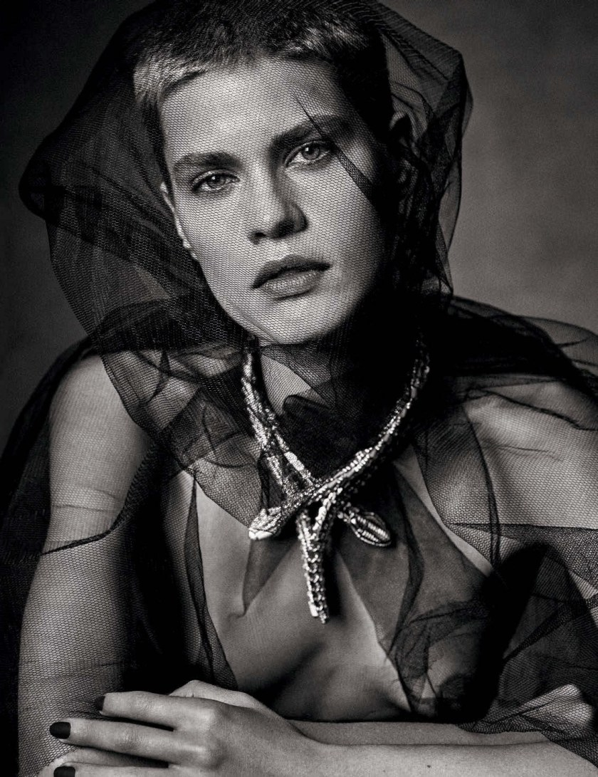 VOGUE GERMANY Kris Gottschalk by Victor Demarchelier. Christiane Arp, December 2016, www.imageamplified.com, Image Amplified5
