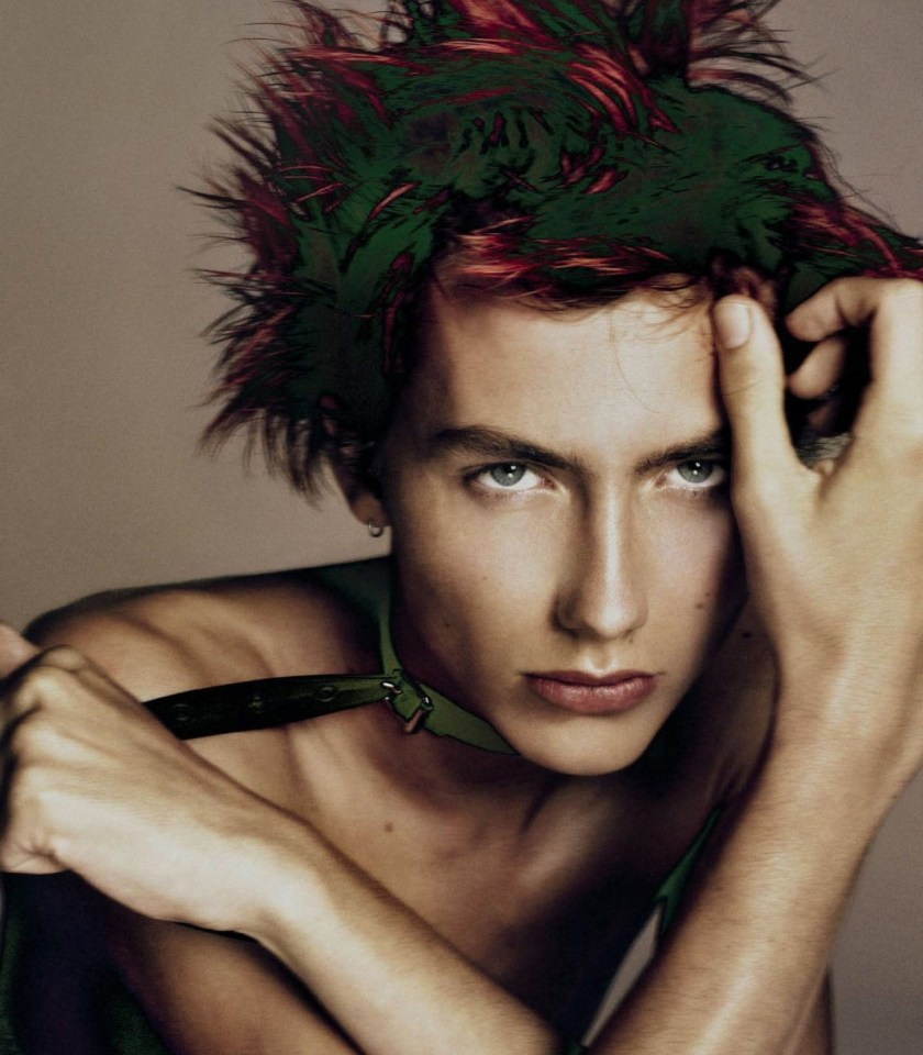 VOGUE ITALIA Free Spirits by Steven Meisel. Karl Templer, November 2016, www.imageamplified.com, Image Amplified18