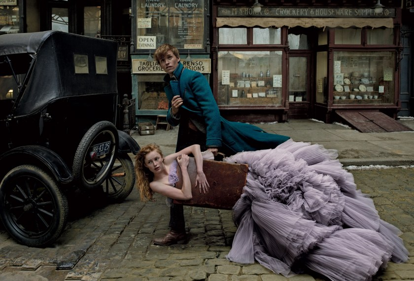 VOGUE MAGAZINE Fantastic Beasts and Where to Find Them by Annie Leibovitz. Grace Coddington, December 2016, www.imageamplified.com, Image Amplified1