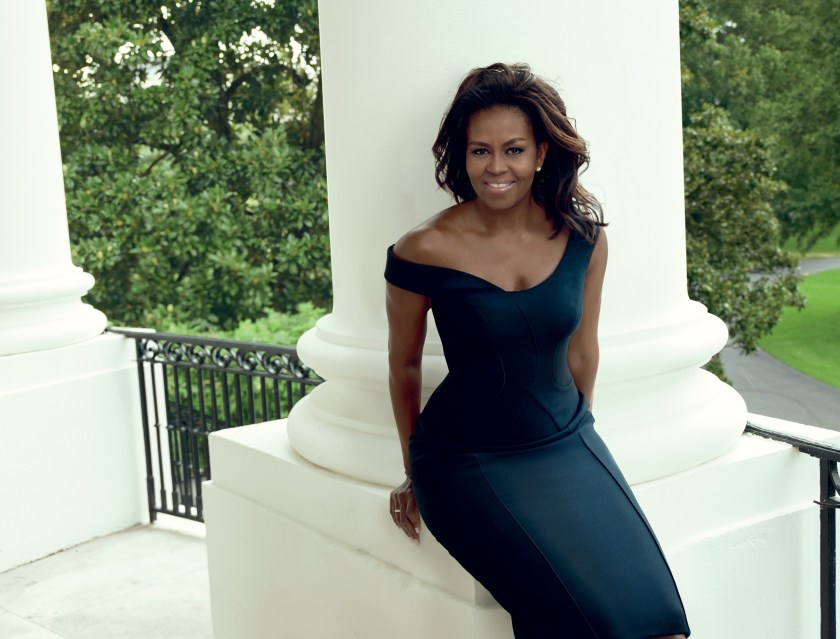VOGUE MAGAZINE Michelle Obama by Annie Leibovitz. Tonne Goodman, December 2016, www.imageamplified.com, Image Amplified3