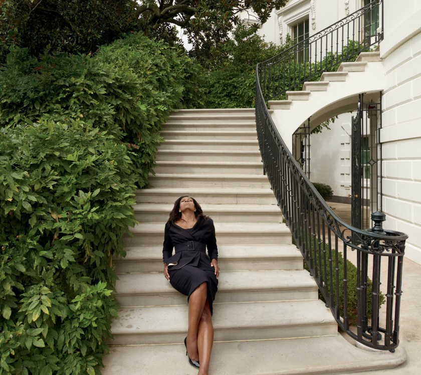 VOGUE MAGAZINE Michelle Obama by Annie Leibovitz. Tonne Goodman, December 2016, www.imageamplified.com, Image Amplified4