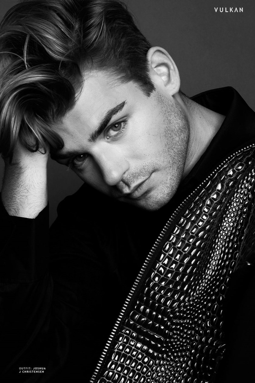 VULKAN MAGAZINE Garrett Clayton by Sarah Mireya. Michael St. Michael, Fall 2016, www.imageamplified.com, Image Amplified (7)