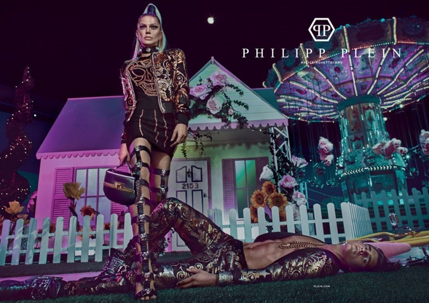 CAMPAIGN Matthew Terry & Fergie for Philipp Plein Spring 2017 by Steven Klein. www.imageamplified.com, Image amplified1