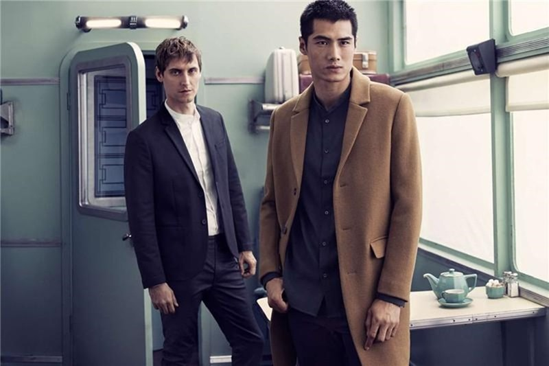 CAMPAIGN Sebastien Andrieu & Hao Yun Xiang for H&M Winter 2016 by Mikael Jansson. Ludivine Poiblanc, www.imageamplified.com, Image amplified3